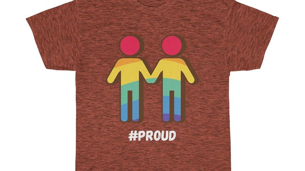 #PROUD COUPLE M Unisex Softstyle T-Shirt (AUS)