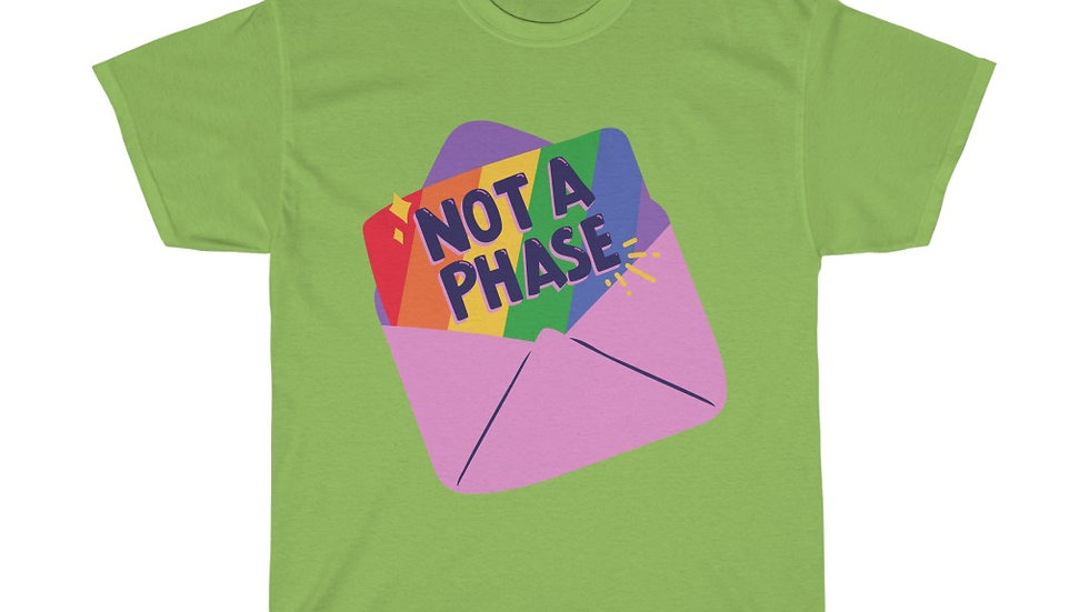 NOT A PHASE Unisex Softstyle T-Shirt (AUS)