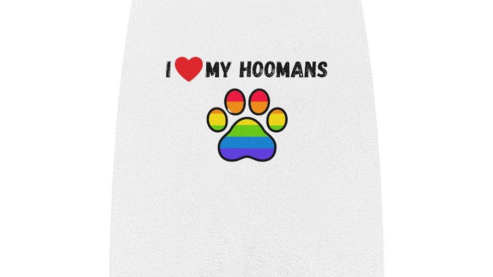 I LOVE MY HOOMANS Pet Tank Top
