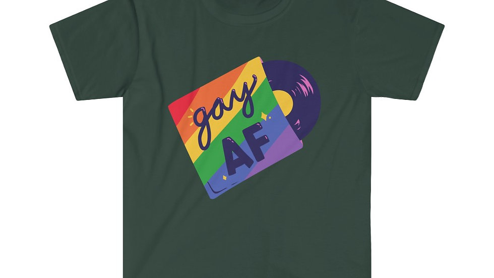 GAY AF Unisex Softstyle T-Shirt