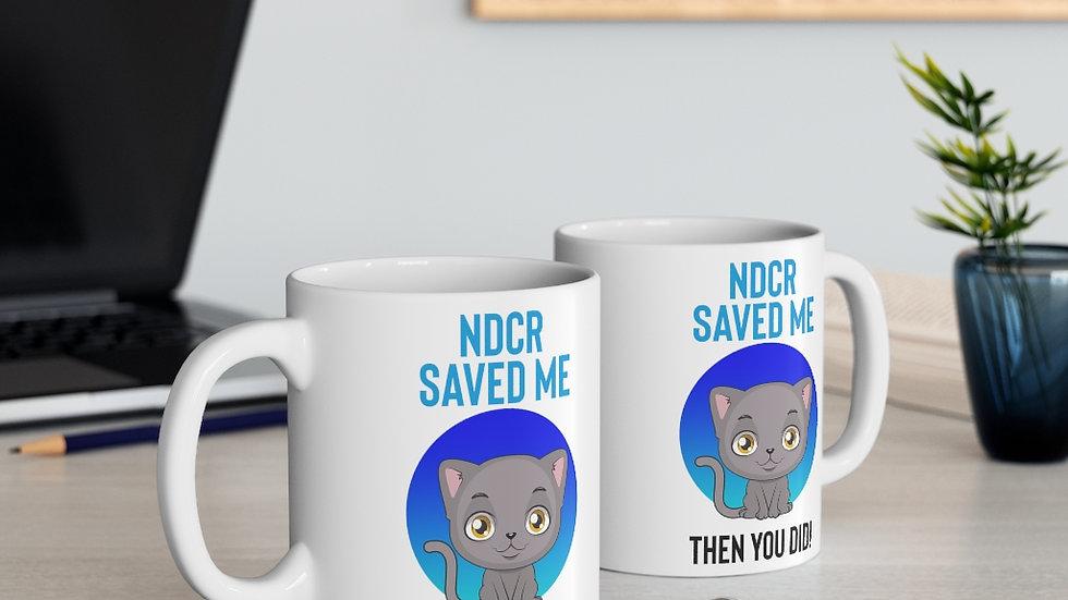 NDCR 'NDCR Saved Me' Mug 11oz