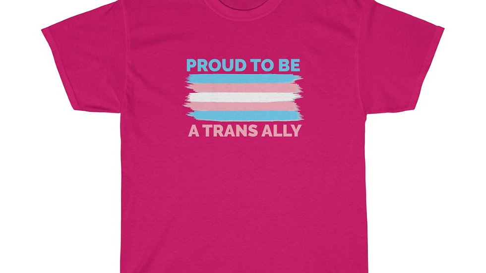 PROUD TO BE A TRANS ALLY (FLAG VERSION) (US)