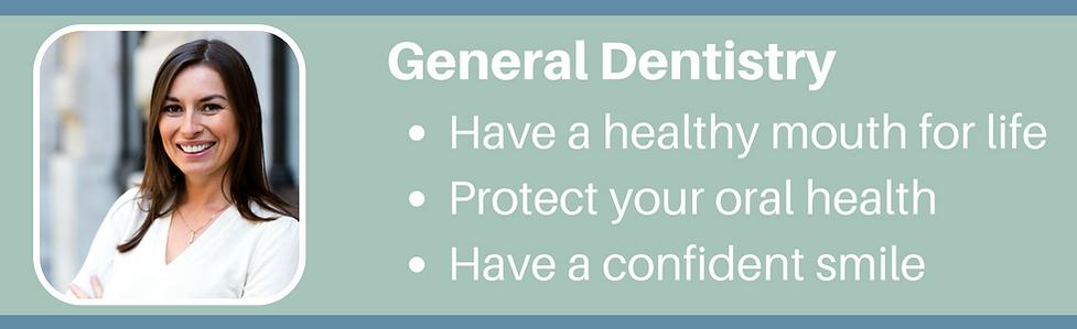 General Dentistry Header