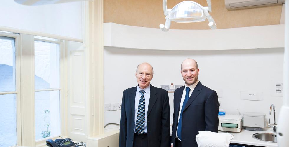 Prof. Harold and Dr. Alon Preiskel