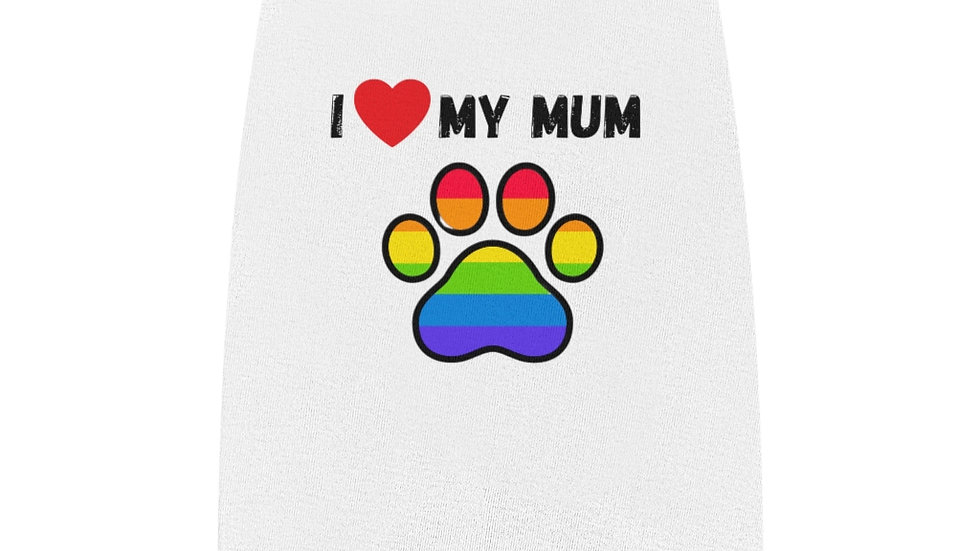I LOVE MY MUM Pet Tank Top
