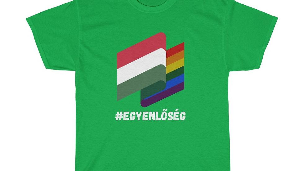 EGYENLŐSÉG FLAGS Unisex T-Shirt