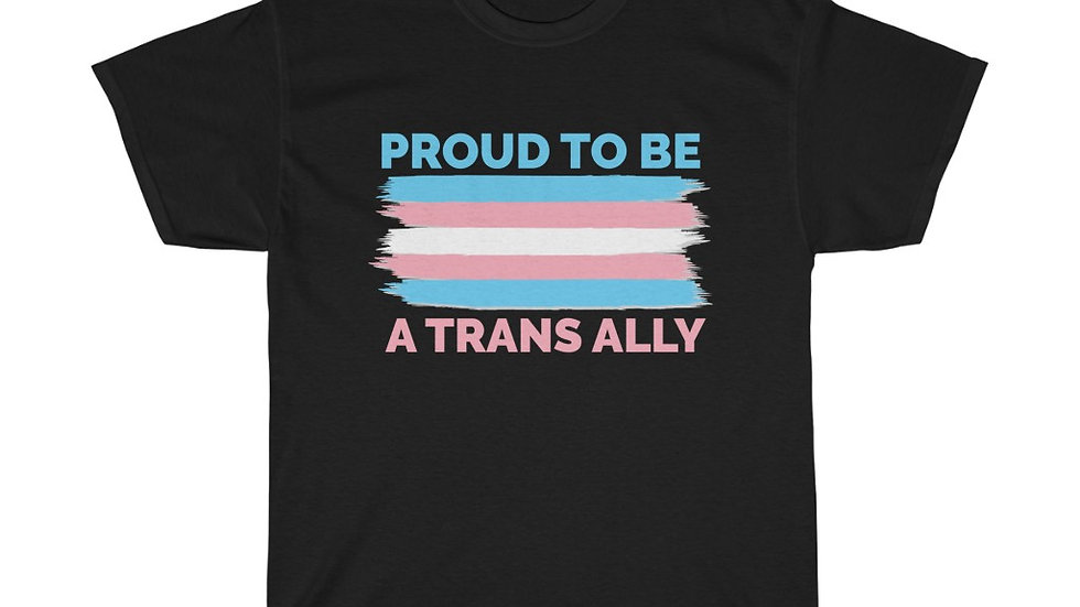 PROUD TO BE A TRANS ALLY (FLAG VERSION) (AUS)