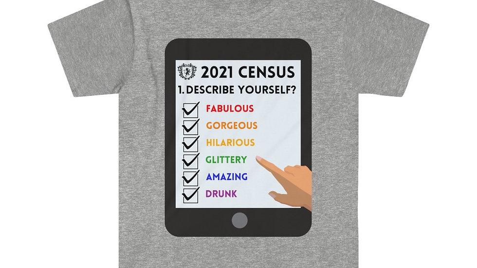 CENSUS 2021 Unisex Softstyle T-Shirt