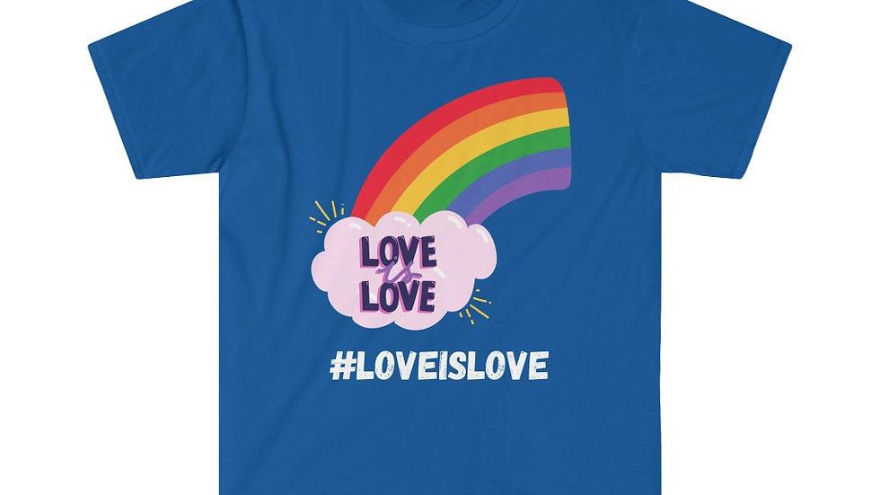 #LOVEISLOVE Unisex Softstyle T-Shirt