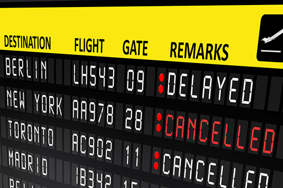 Have you had flight delays over the long weekend?