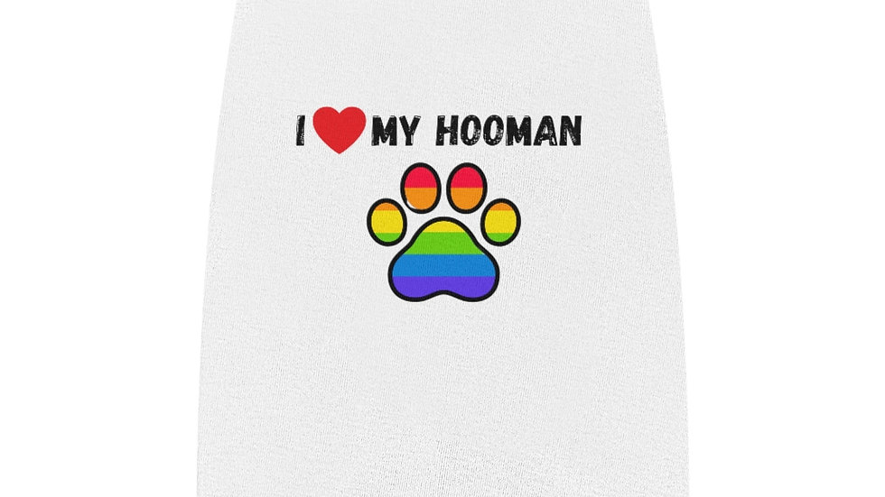 I LOVE MY HOOMAN Pet Tank Top