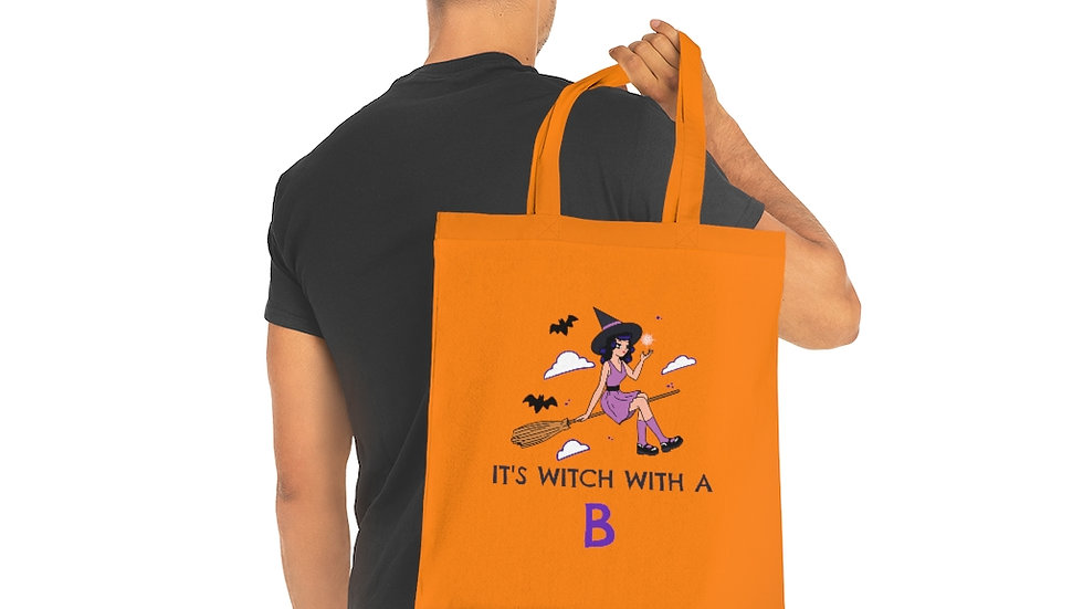 It's Witch With A B Tote Bag