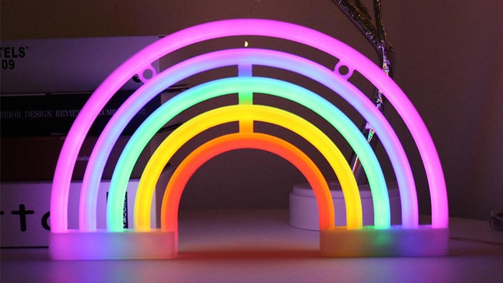 LED Rainbow Light Neon Sign