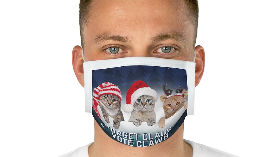 FORGET CLAUS, VOTE CLAWS FACE MASK