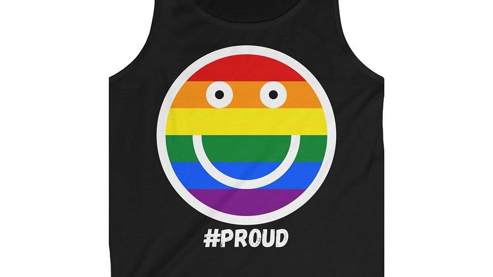 #PROUD SMILEY FACE VEST