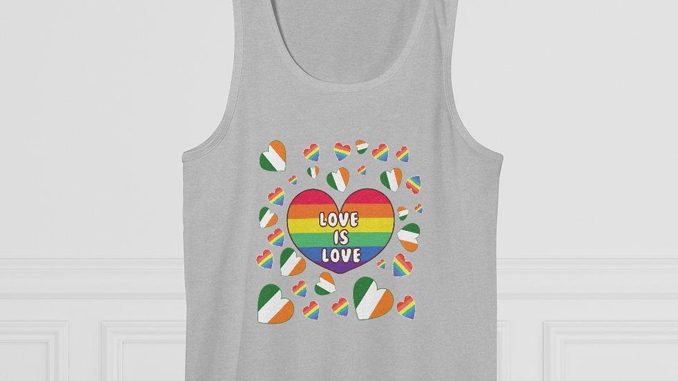 LOVE IS LOVE (IRELAND) Men's Vest Top