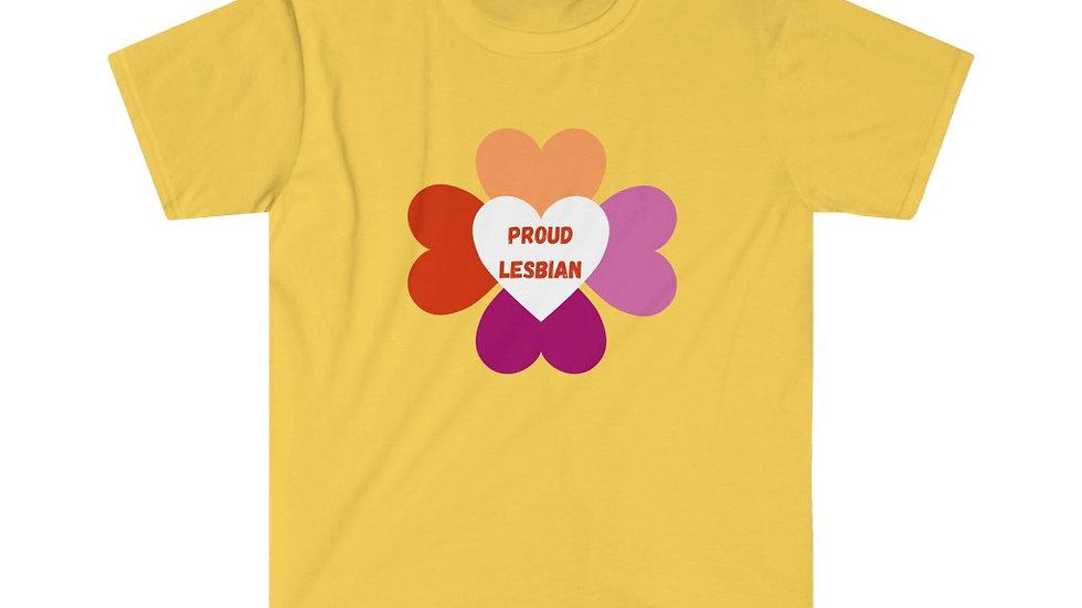 PROUD LESBIAN Unisex Softstyle T-Shirt (US)