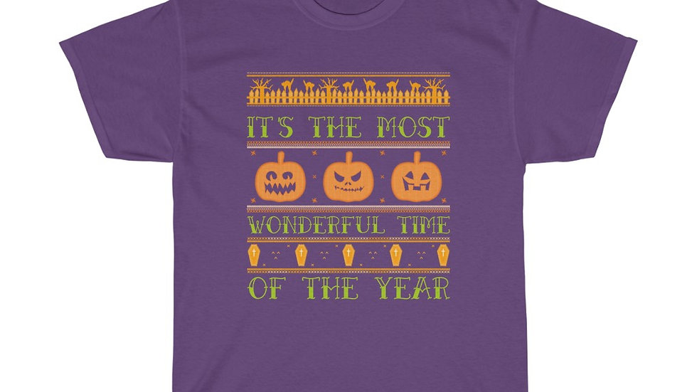 It's The Most Wonderful Time Of The Year Unisex Heavy Cotton T-Shirt