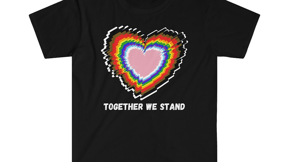 TOGETHER WE STAND (IRL) Unisex Softstyle T-Shirt