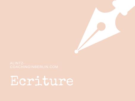 Covid-19 - Jour 1 de coaching: Ecriture