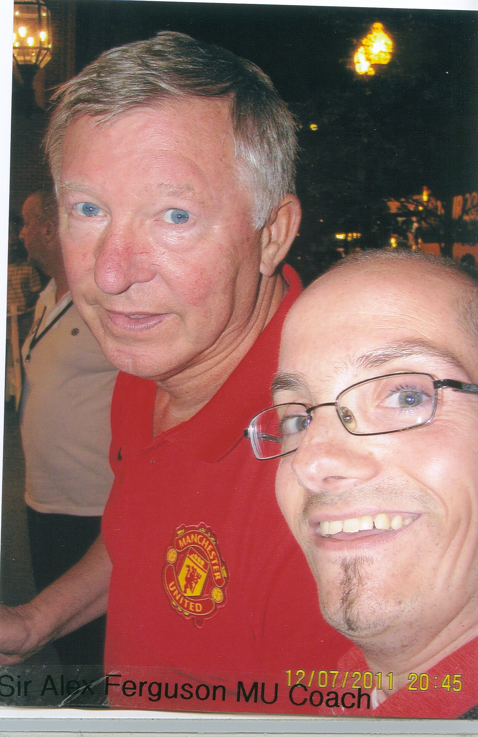 Sir Alex Ferguson, MU Coach