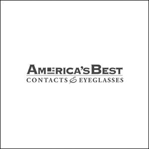 Americas Best Eyewear Logo Black STROKE.