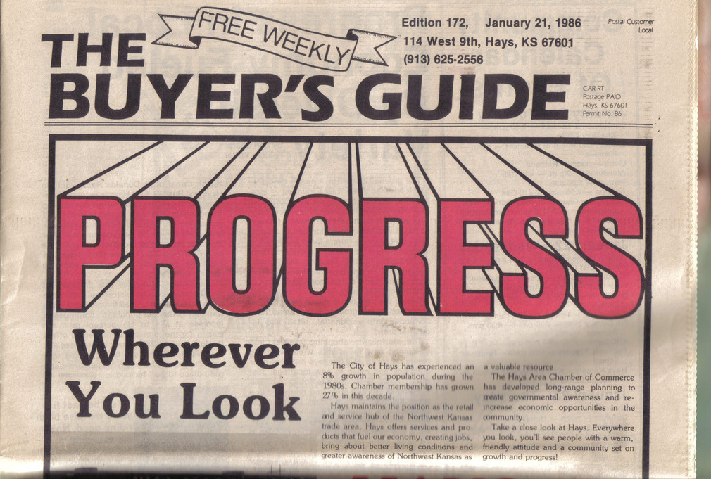 Buyer's Guide, four years, weekly