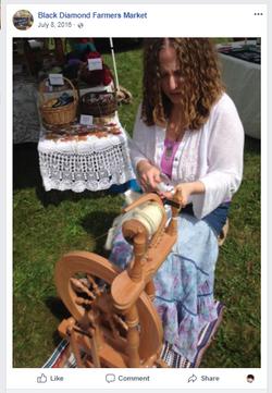 Heather Rinker, Spinning