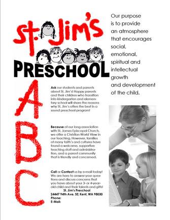 St. Jim's Preschool