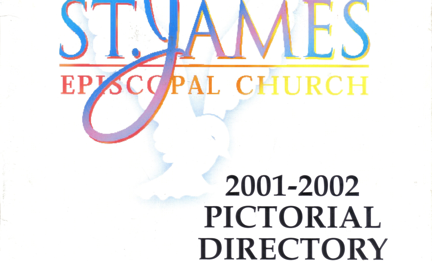 24 page member pictoral directory for St. James