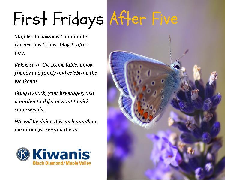 Happy hour with Kiwanis!
