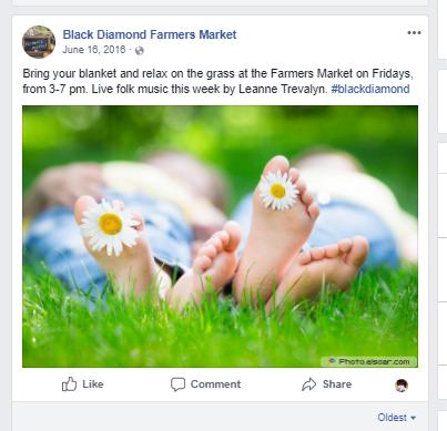 Social, Farmers market