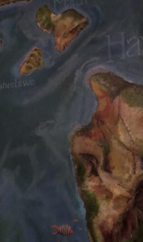 Map of Hawaii (video)