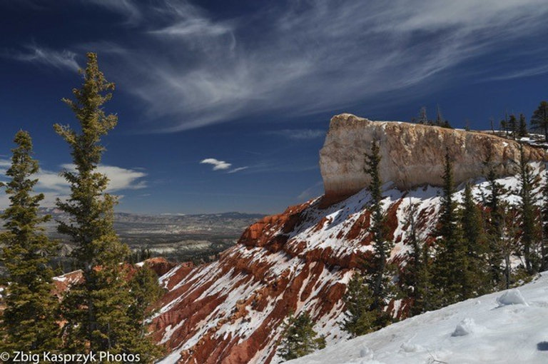 Spring at Bryce Canyon National Park, Ut