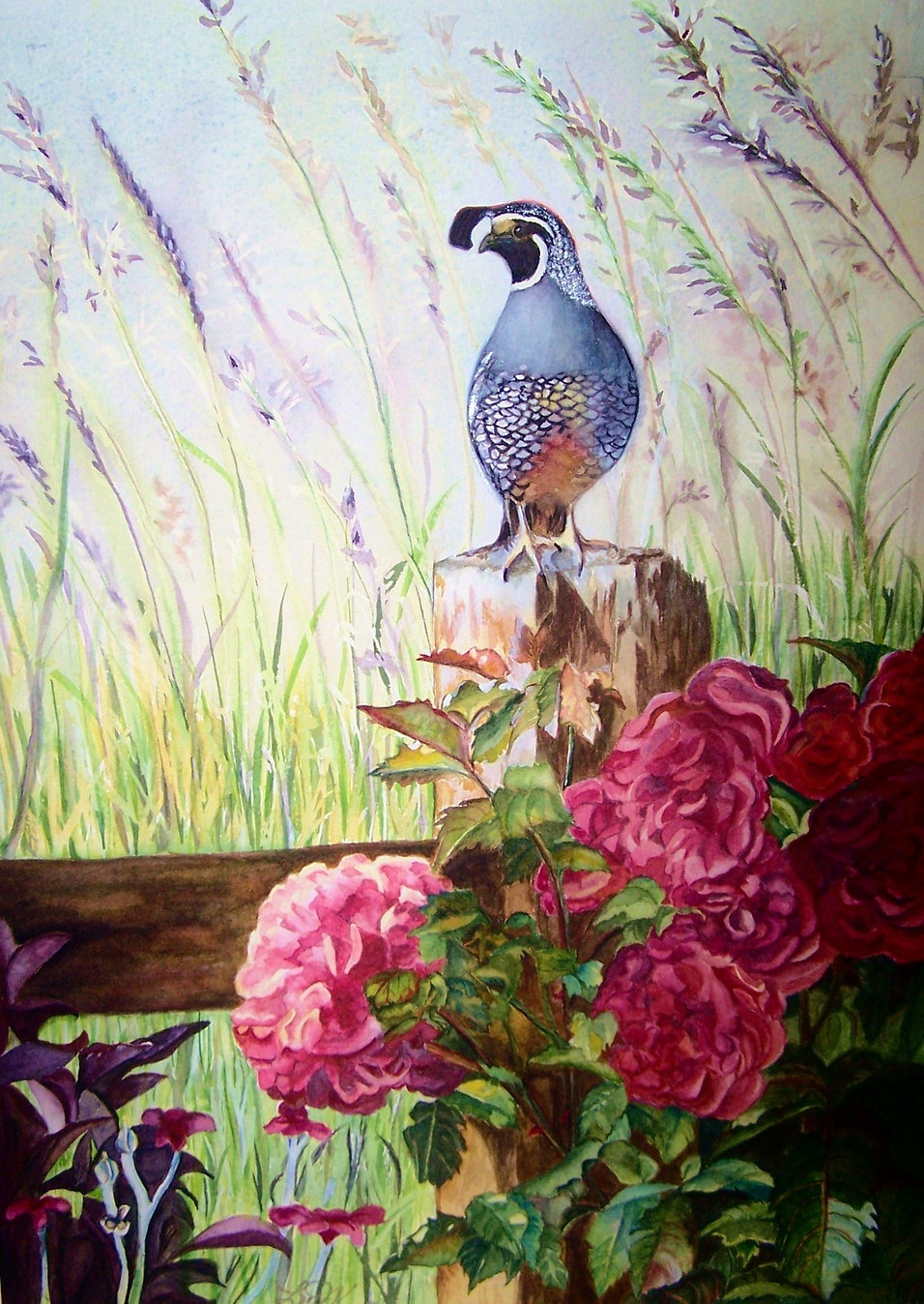 On The Watch Watercolor   14x11.JPG