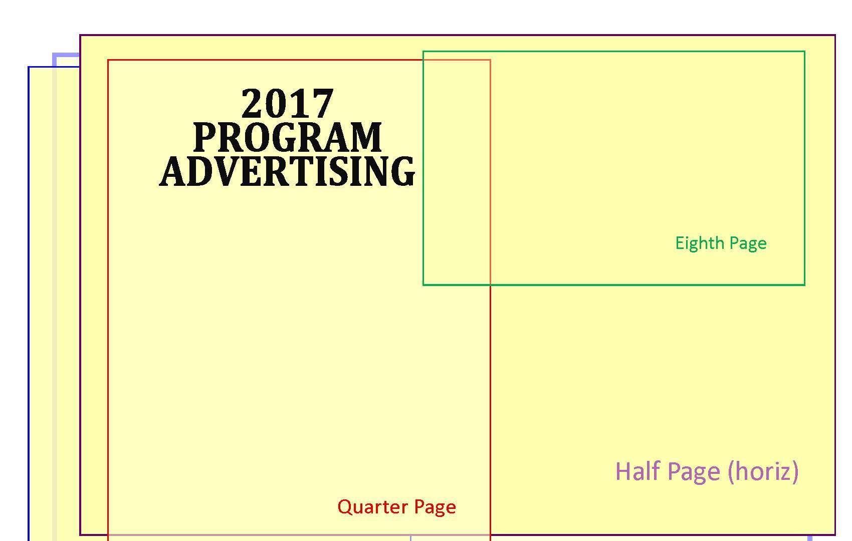 Sponsorship/Advertising for Program