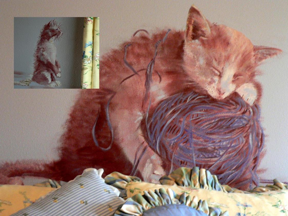 Cat Murals