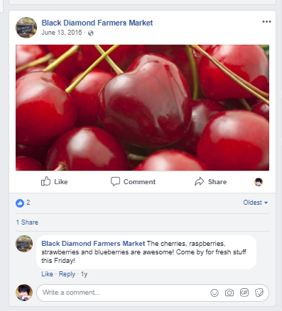 Social for Farmers Market
