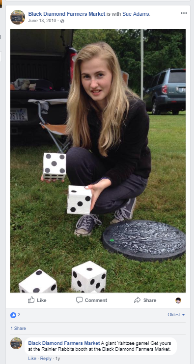 Lawn Dice for sale