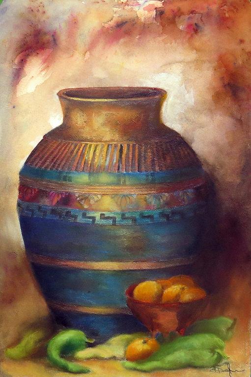 Patricia Doyle, Mexican Jar    24x16