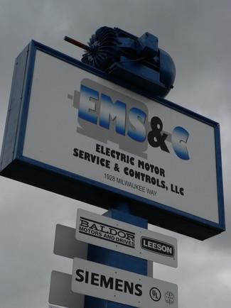 EMS Logo, signage, stationary, business cards, atc