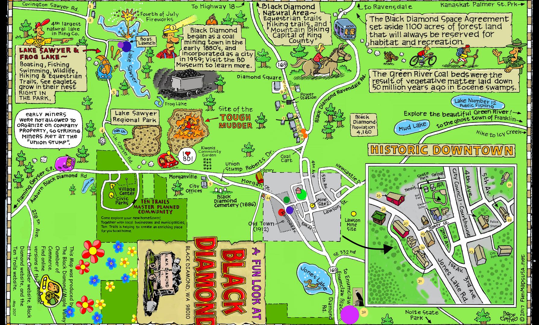 Community Map of Black Diamond