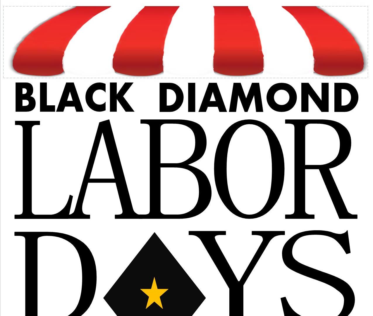 Black Diamond Labor Days logo