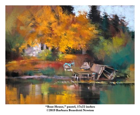 Boat House, pastel, 17x22.jpg