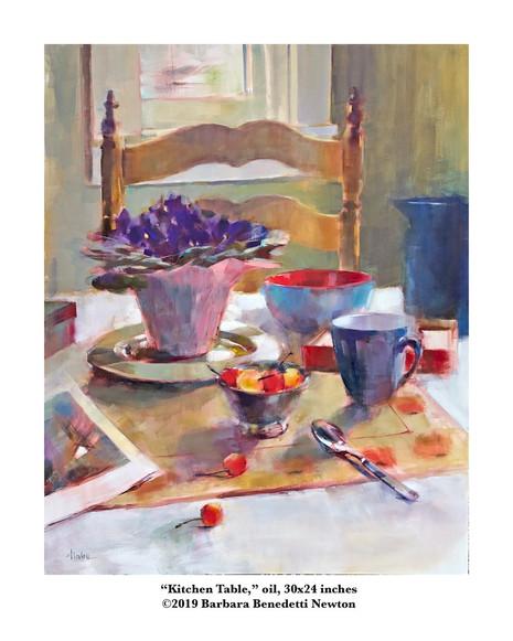 Kitchen Table, oil, 20x24.jpg