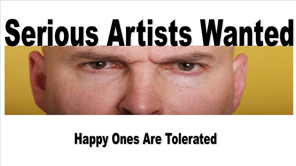 Serious Artists worksheet
