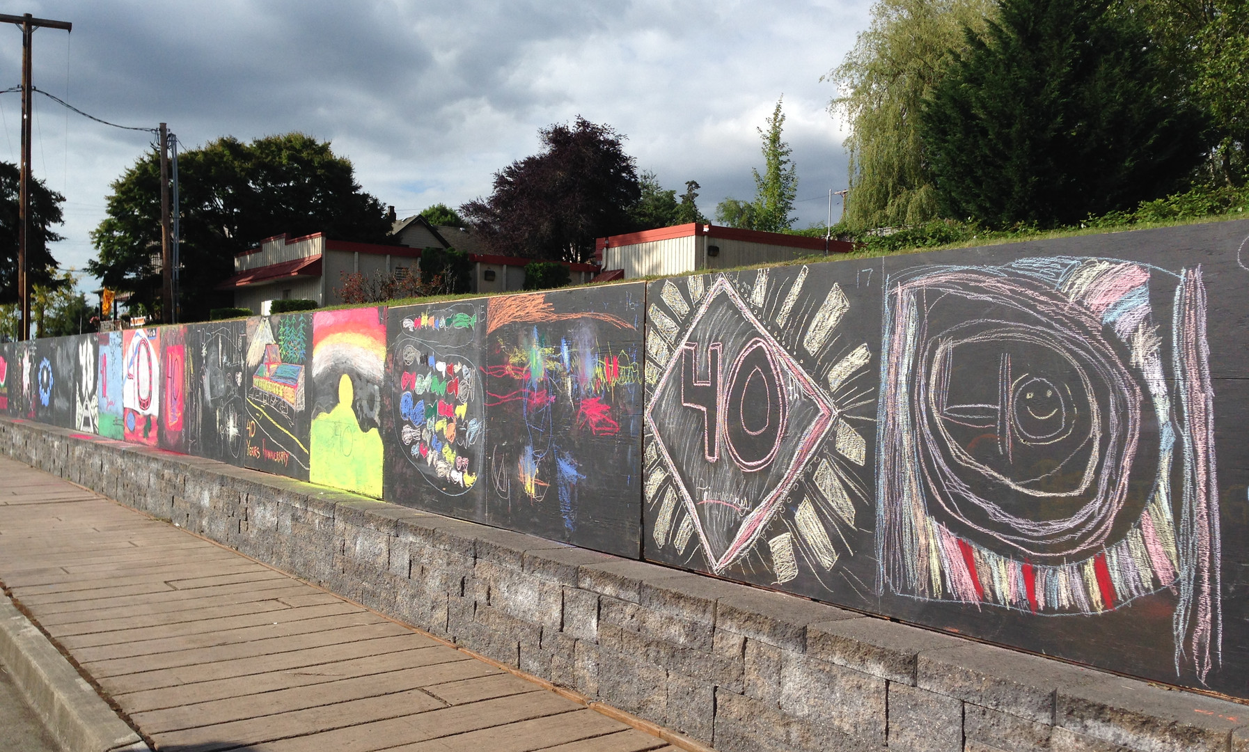 The Chalk In welcomes all age and skill levels in the community