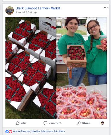We're the berries!  Farmers Market Social