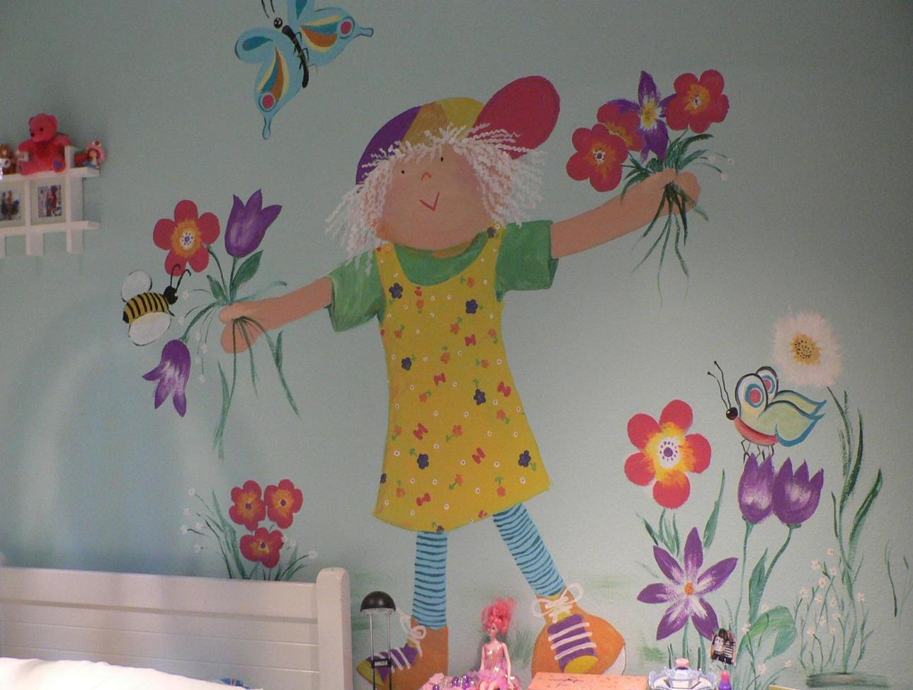 Dolls Mural
