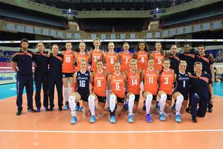 2016 世界女排大獎賽香港站 —荷蘭隊